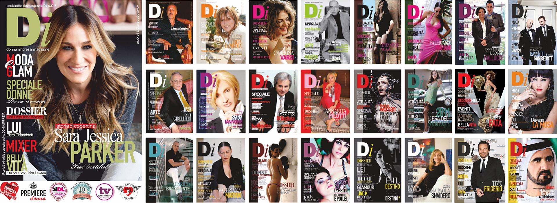 the Cover Di Magazine